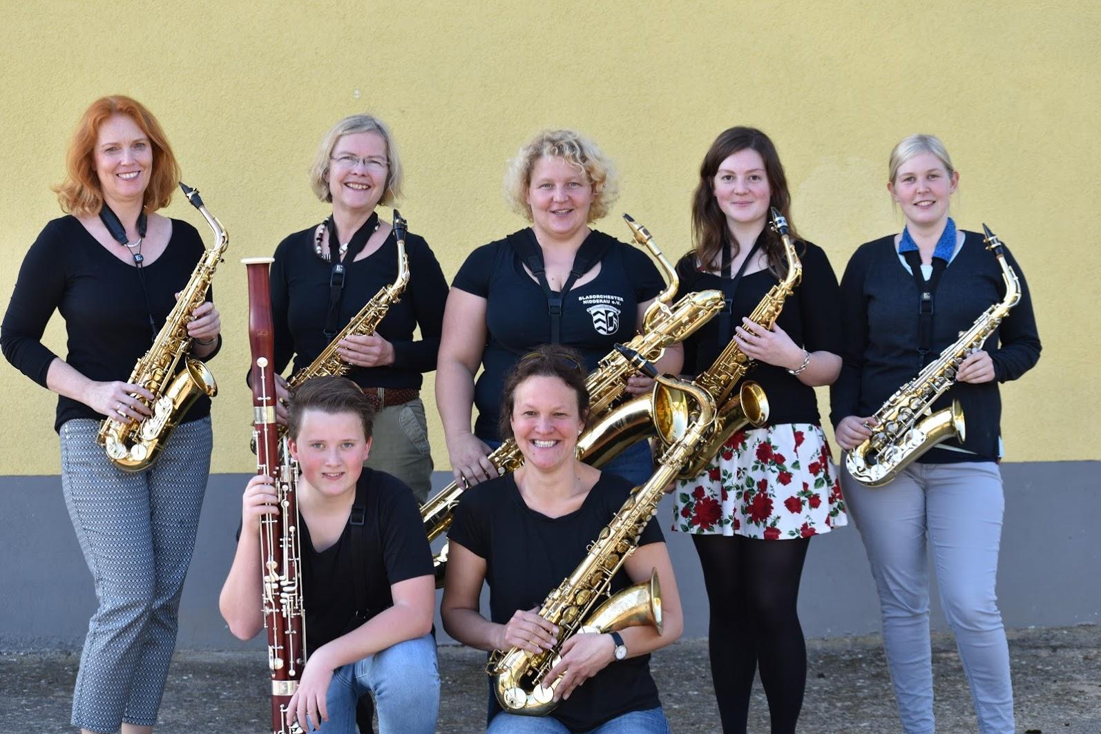 Register, Saxophon